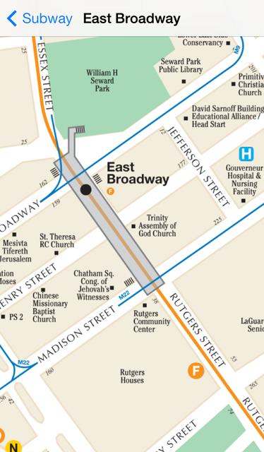 Exit Strategy NYC Subway Map screenshot 5