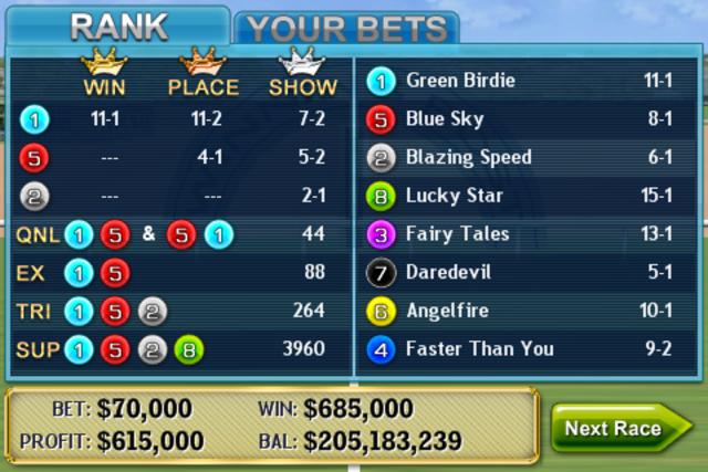 Virtual Horse Racing 3D screenshot 5