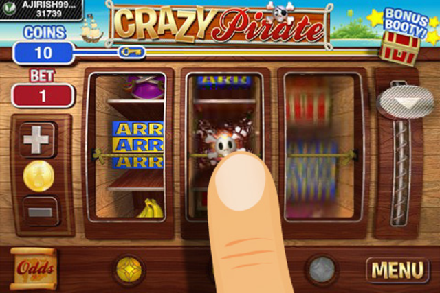 Crazy Pirate Slots screenshot 1