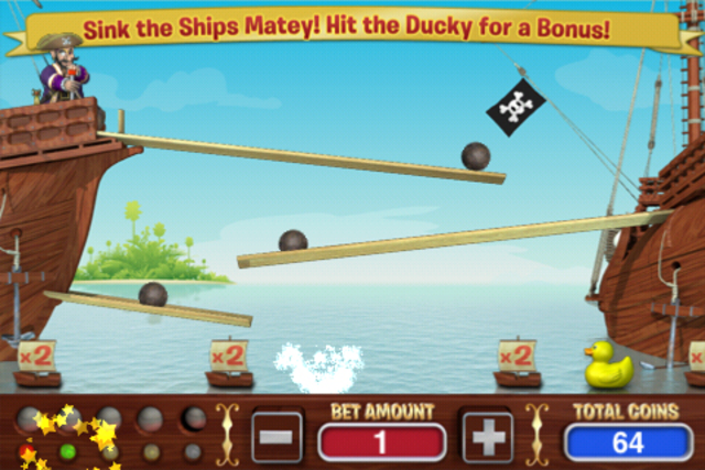 Crazy Pirate Slots screenshot 2