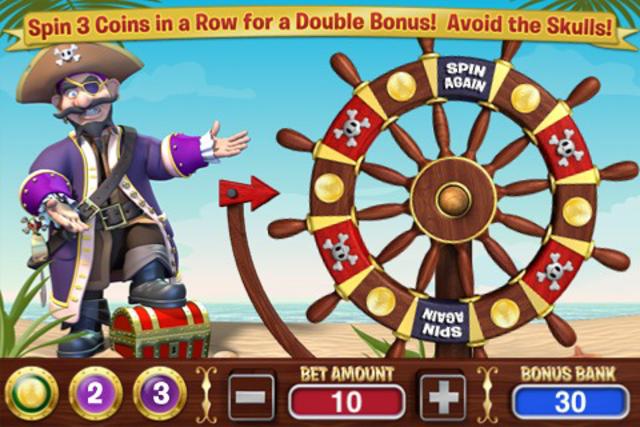 Crazy Pirate Slots screenshot 3