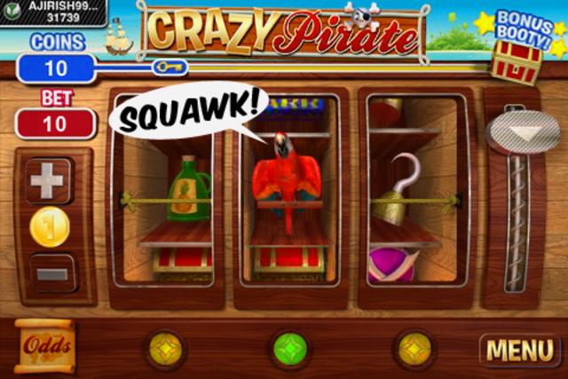 Crazy Pirate Slots screenshot 4