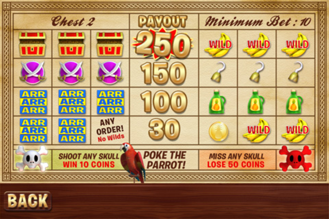 Crazy Pirate Slots screenshot 5