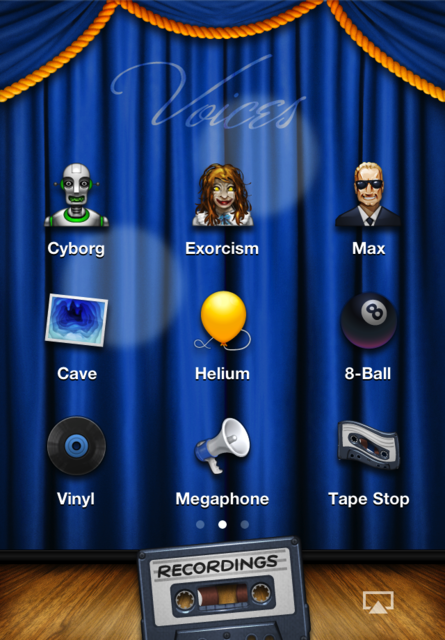 Voices 2 ~ fun voice changing! screenshot 3