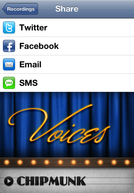 Voices 2 ~ fun voice changing! screenshot 4