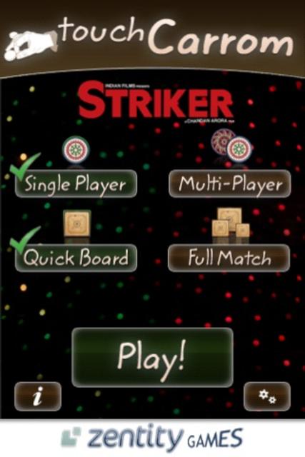 Touch Carrom: Striker Edition screenshot 8