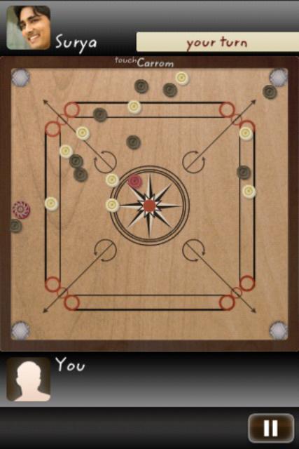 Touch Carrom: Striker Edition screenshot 16