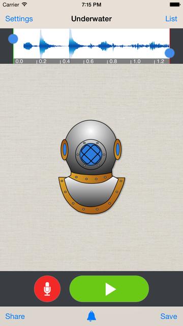 Voice Changer Plus screenshot 2