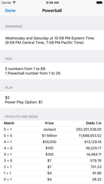 Mega Millions + Powerball screenshot 4