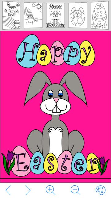 My Holiday Coloring Book screenshot 1