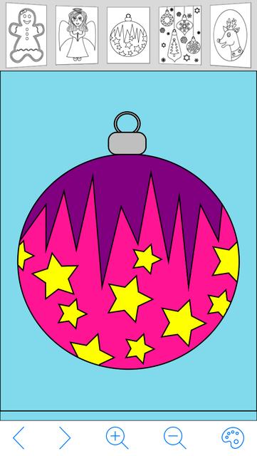 My Holiday Coloring Book screenshot 5