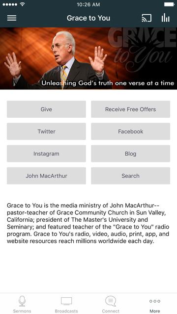 Grace to You Sermons screenshot 5