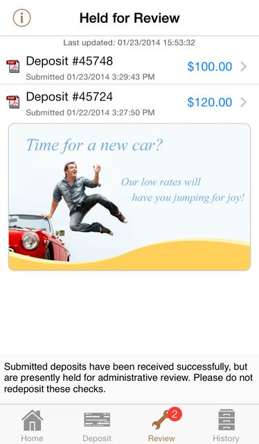 DeposZip Mobile screenshot 3