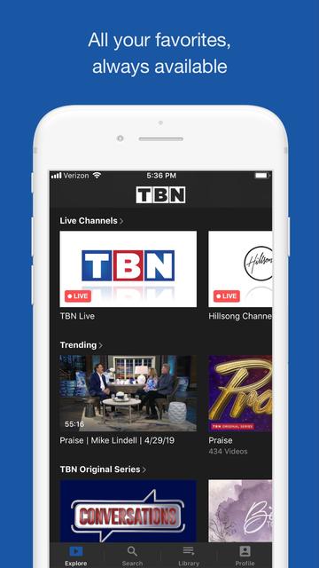 TBN: Watch TV Live & On Demand screenshot 8