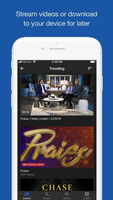 TBN: Watch TV Live & On Demand screenshot 9