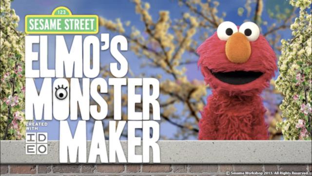 Elmo's Monster Maker screenshot 1