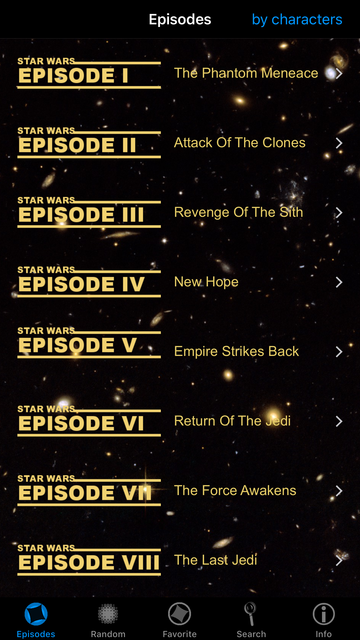 Quotes for Star Wars screenshot 6