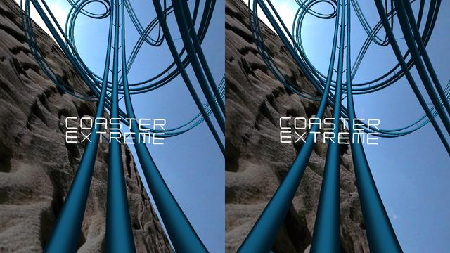 Coaster VR, Extreme Endless 3D Stereograph screenshot 1