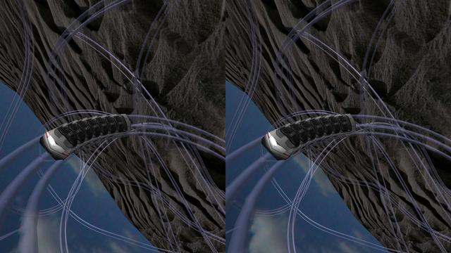 Coaster VR, Extreme Endless 3D Stereograph screenshot 2