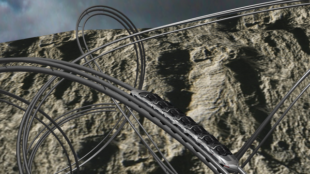 Coaster VR, Extreme Endless 3D Stereograph screenshot 4