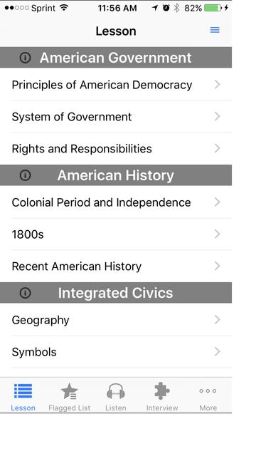 Citizenship USA screenshot 1