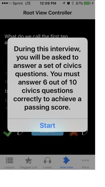 Citizenship USA screenshot 5