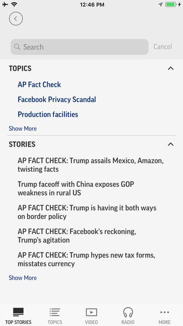 AP News screenshot 10