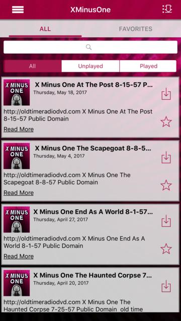 X Minus One - Old Time Radio App screenshot 7