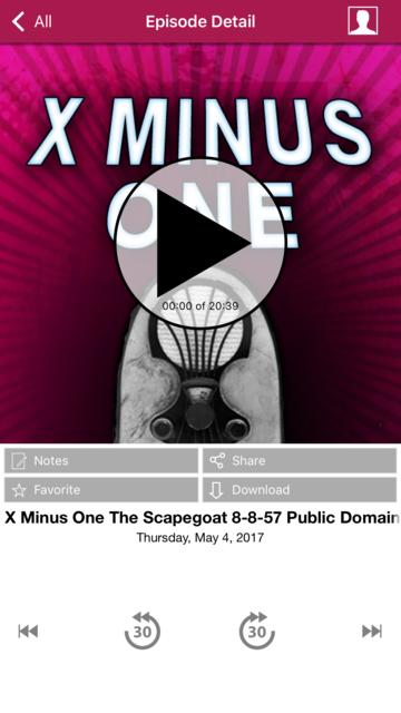 X Minus One - Old Time Radio App screenshot 8