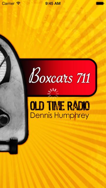Boxcars711- Old Time Radio App screenshot 1