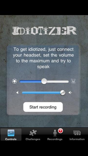 Idiotizer - The mind blocker screenshot 1
