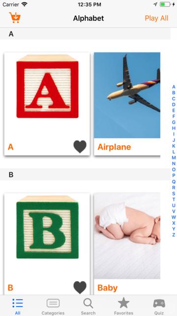 ASL Dictionary Baby Signing screenshot 1