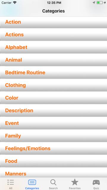 ASL Dictionary Baby Signing screenshot 2