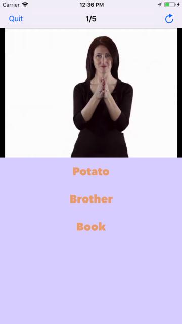 ASL Dictionary Baby Signing screenshot 4