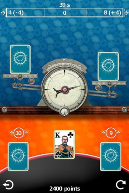 Balance Solitaire screenshot 2