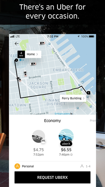 Uber - Request a ride screenshot 8