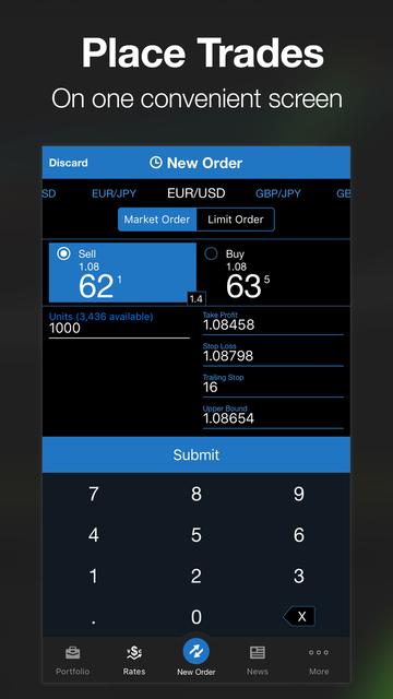 OANDA fxTrade Forex Trading screenshot 8