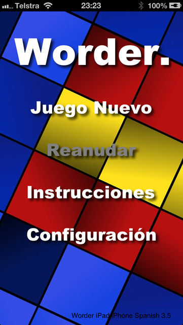 Worder Spanish screenshot 1