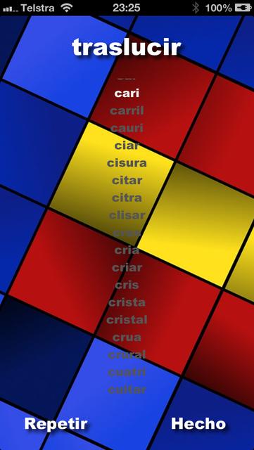 Worder Spanish screenshot 3