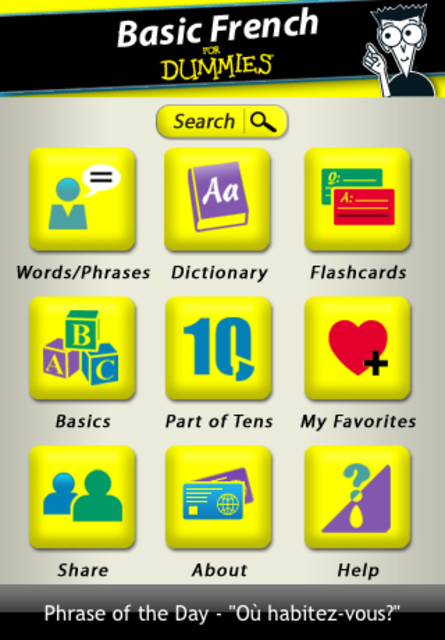 Basic French For Dummies screenshot 1
