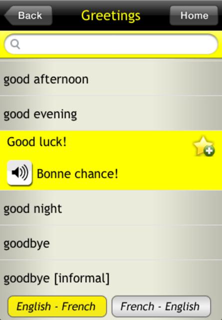 Basic French For Dummies screenshot 2