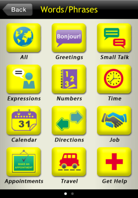 Basic French For Dummies screenshot 3