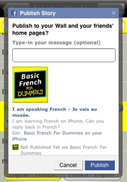 Basic French For Dummies screenshot 4