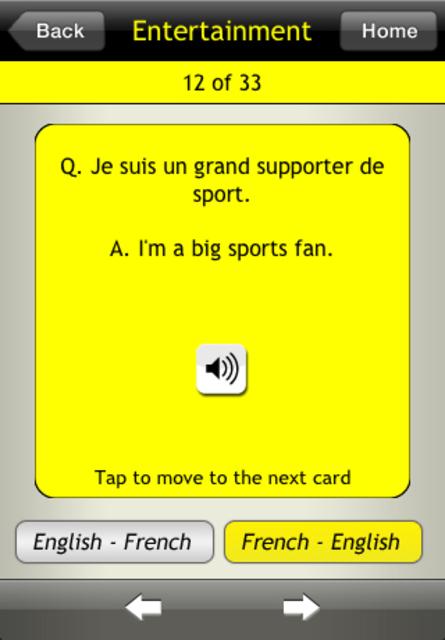 Basic French For Dummies screenshot 5