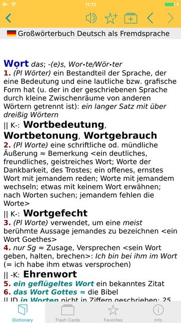 German Learner's Dictionary screenshot 5