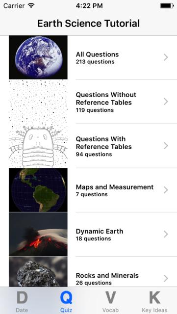 Earth Science Regents Study screenshot 2