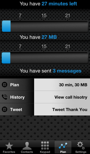 Call+Data Time Monitor screenshot 3