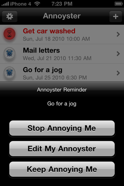 Annoyster - The Random Reminder screenshot 3