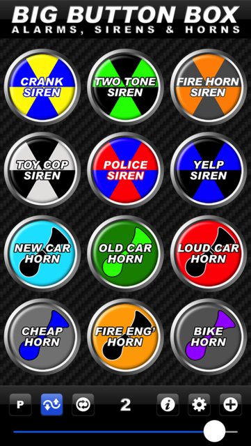 Big Button Box: Alarms, Sirens & Horns - sound fx screenshot 7