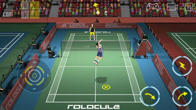Super Badminton screenshot 1